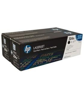Tóner originales LaserJet HP 304A en negro - CC530AD