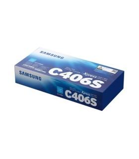 Tóner Samsung CLT-C406S cian - ST989A