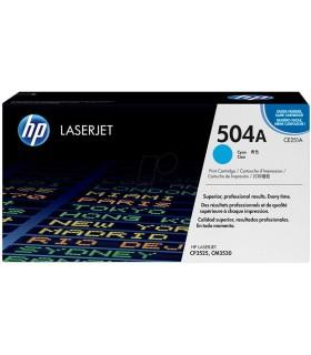 Tóner cian HP 504A LaserJet - CE251A
