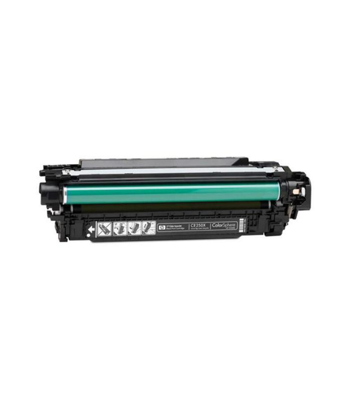 Tóner negro de alto rendimiento HP 504X LaserJet - CE250X