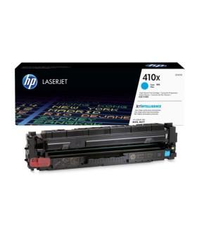Tóner original HP LaserJet 410X cian de alta capacidad - CF411X