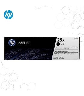 Tóner negro de alto rendimiento HP 25X LaserJet original - CF325X