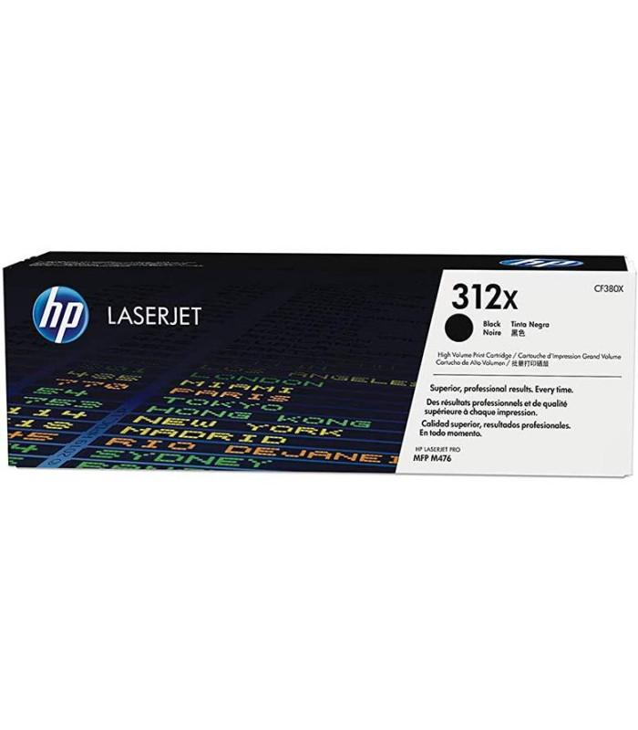 Tóner original HP 312X LaserJet de alta capacidad, negro - CF380X