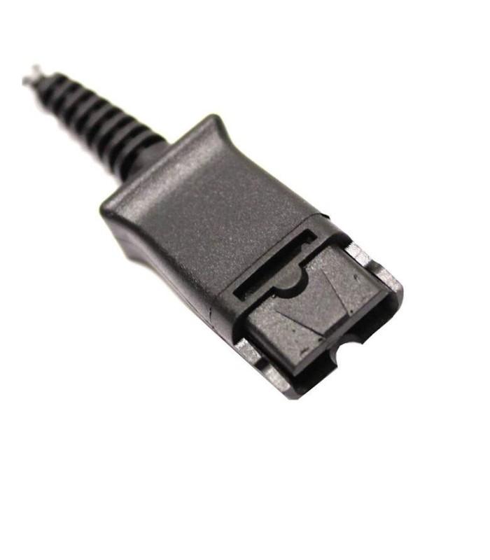 Cable Plantronics Quick Disconnect (QD) a RJ9 para conectar teléfono  marca Cisco - 88470-01