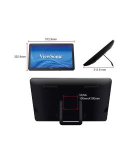 """Monitor Táctil De 24"""" y 10 Puntos De Contacto ViewSonic - TD2430"""