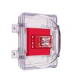 Gabinete antivandalico para proteger alarmas estroboscópicas - STI-1221A