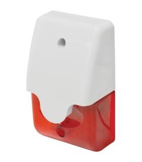 Sirenas miniaturas estroboscópica, lentes rojo - SL-1312-SA/R