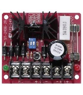 Fuente de Poder Cargador CA/C.C.- 1.5A continua 2.0A max - ST-2406-2AQ