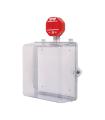 Gabinetes protector en policarbonato con alarma - STI-7522