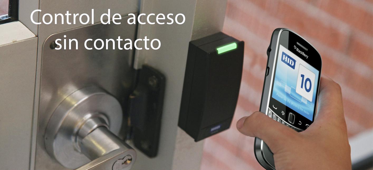 Control de acceso sin contacto