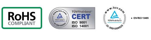 Certificaciones Rosslare